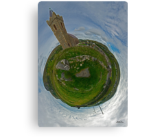 Glencolmcille Church - Sky Out Canvas Print