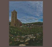 Glencolmcille Panorama with Church Kids Clothes