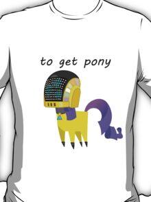 BBFFF Style Rarity, Daft punk version T-Shirt