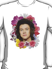 Harry Styles - Floral T-Shirt