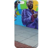 Marvin Gaye -- The New Hometown Mural iPhone Case/Skin