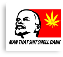 SMELL THE REVOLUTION Canvas Print