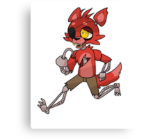 Foxy - Five Nights at Freddy's Canvas Print