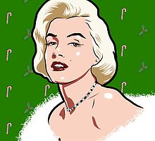 Marilyn Christmas by Rich Anderson