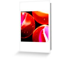 Passionate Embrace Greeting Card