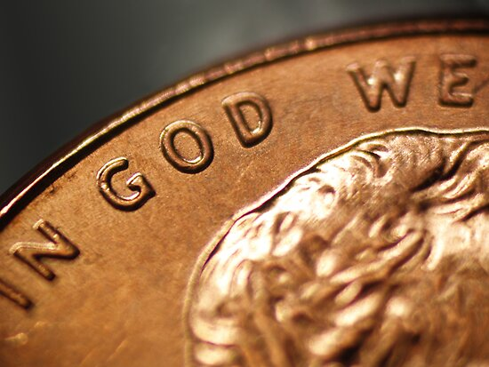 In God We Trust? by digerati