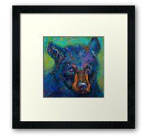 Earth Keeper: Black Bear Framed Print