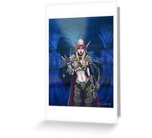 World of Warcraft - Lady Sylvanas Greeting Card