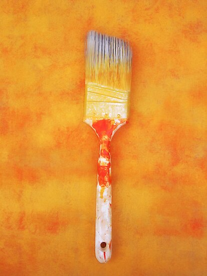 Paint brush by Jean-François Dupuis