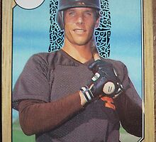 269 - Tim Flannery by Foob's Baseball Cards