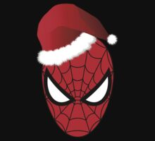 Christmas Spider-Man in Santa Hat  T-Shirt