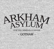 Gotham & Batman - Arkham Asylum by davidtoms