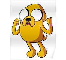 Adventure Time - Jake the Dog Poster