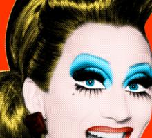 The Warhol Project: BIANCA DEL RIO Sticker
