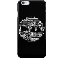 Depeche Mode : DM Logo 2013 - With old logo 2 - White iPhone Case/Skin