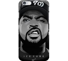 ICE CUBE VECTOR PORTRAIT - by Vik Kainth iPhone Case/Skin