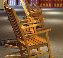 Rocking Chairs in Waiting by photroen