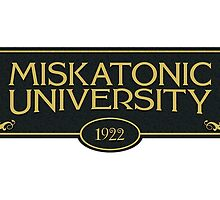 Miskatonic University (Staff Mug -1922) by Robyn California