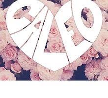 Caleo floral background by SammyJo114