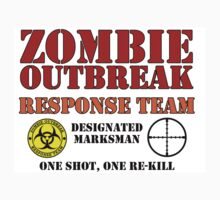 zombie outbreak the walking dead by reelpartyt-shir