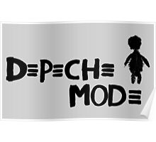 Depeche Mode : Playing the Angel - 2 - Black Poster