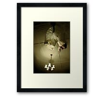 .... 9, 10, never sleep again... Framed Print