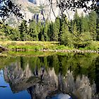 Yosemite Reflection Lake by David Harris