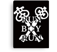 Run Boy Run Canvas Print