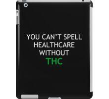 thc 2 iPad Case/Skin