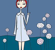 umbrella by Micheline Kanzy