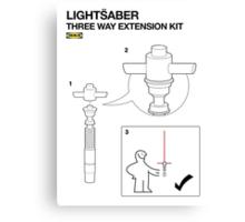 IKEA - LIGHTSABER KIT - star wars VII - 7  Canvas Print