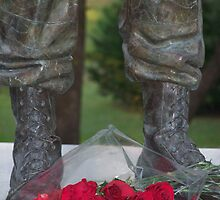 At the Foot of Honor by mrslowney