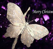 Magical Butterfly - Christmas by Coralie Alison