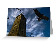 Song of Stone and Sky Greeting Card