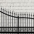 Wrought Iron Fence © by Ethna Gillespie