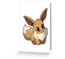 Pokemon - Eevee Greeting Card