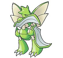 Pokemon - Scyther Photographic Print