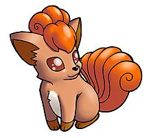 Pokemon - Vulpix Photographic Print