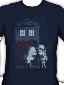 Bad wolf in Gravity falls T-Shirt