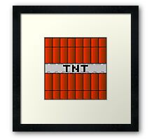 TNT - MINECRAFT Framed Print