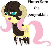 BBFFF Style Fluttershy, Skyrim version by kobikobo