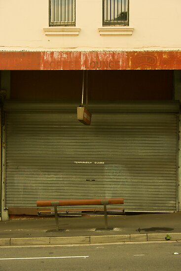 temporarily closed by Michael Douglass