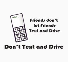 Don't Text and Drive by Pamela Maxwell