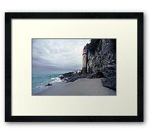 Castle Turret at Victoria Beach, Laguna Beach Framed Print