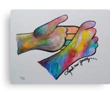 Lead Me Gently - American Sign Language Canvas Print