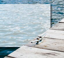 Lake Dock with Text Box by digerati