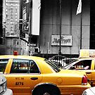 Yellow Cab (Number 3 of a series of 3 cards) by Ian  James