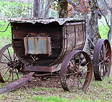Wagon, 19th Century by Laurie Puglia