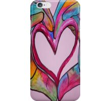 Universal Sign for Love - You Hold my Heart in Your Hand iPhone Case/Skin