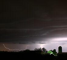 bolts behind farm by Don Cox